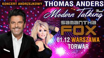 Thomas Andes Live in Concert - Warschau @ Torwar | Warsaw | Poland